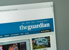Free Milan, Italy - August 10, 2017: The Guardian Website Homepage. T Royalty Free Stock Photos - 103311858