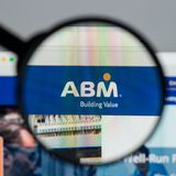 Milan, Italy - August 10, 2017: ABM Industries website homepage. Milan, Italy - August 10, 2017: ABM Industries Stock Photos