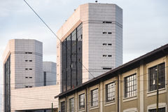 Milan (Italy): buildings Royalty Free Stock Images