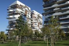 Milan Italy: Citylife Fotografia de Stock Royalty Free