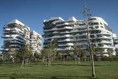 Milan Italy: Citylife Stock Image