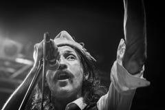 Gogol Bordello at Live Music Club MI 02-12-2017. Milan, Italy. 02 December 2017. American band Gogol Bordello performs at Live Music Club. Brambilla Simone Royalty Free Stock Image