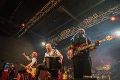 Gogol Bordello at Live Music Club MI 02-12-2017. Milan, Italy. 02 December 2017. American band Gogol Bordello performs at Live Music Club. Brambilla Simone Stock Image