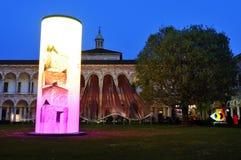 Milan, Italy,  2016 Design Week - Fuorisalone Università Statale Royalty Free Stock Photo
