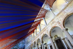 Milan, Italy,  2016 Design Week - Fuorisalone Università Statale Royalty Free Stock Photography