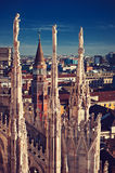 Milan. Italy. Stock Images
