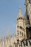 MILAN, ITALY/EUROPE - FBRUARY 23 : Détail de l'horizon du photographie stock