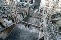 MILAN, ITALY/EUROPE - FBRUARY 23 : Détail de l'horizon du photographie stock libre de droits