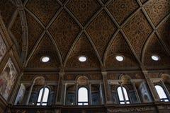 Milan, Italy, Europe, San Maurizio al Monastero Maggiore, church, the Sistine Chapel of Milan, art, fresco, monastery, convent. Milan, Italy, Europe: the stock photography