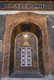 Milan, Italy, Europe, San Maurizio al Monastero Maggiore, church, the Sistine Chapel of Milan, art, fresco, monastery, convent. Milan, Italy, Europe: San stock photography