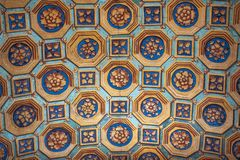 Milan, Italy, Europe, San Maurizio al Monastero Maggiore, church, the Sistine Chapel of Milan, art, fresco, monastery, convent. Milan, Italy, Europe: the stock photos