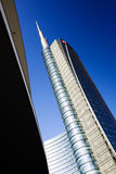 MILAN, ITALY, FEBRUARY 12 2015: new Unicredit Bank skyscraper, Milan Stock Photos