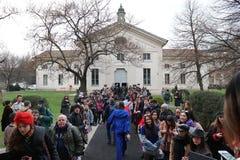 Milan fashion week day 2 Royalty Free Stock Photos