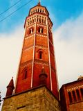 Tower in Milan, Italy stock photo