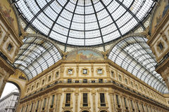 Milan, Italy,  Galleria Vittorio Emanuele Royalty Free Stock Images