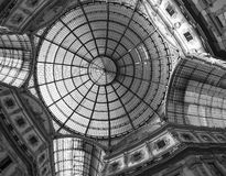 Milan (Italy): the Gallery Royalty Free Stock Photography