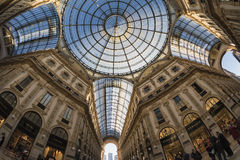 Milan (Italy): the Gallery Royalty Free Stock Photos