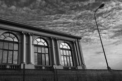 Milan Italy: historic building at Citylife Royalty Free Stock Photo