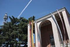 Triennale di Milano. Milan, Italy - July 29, 2017: Triennale di Milano historic building Royalty Free Stock Photo