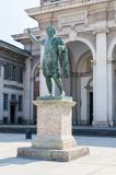 Bronze Monument of Emperor Constantine. royalty free stock images