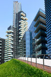 Milan, Italy june 06 2014:new Porta Nuova district, Milan Italy June 0 Royalty Free Stock Image