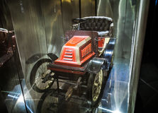 MILAN, ITALY - JUNE 9, 2016: vintage car at the Science and Tech Stock Photo