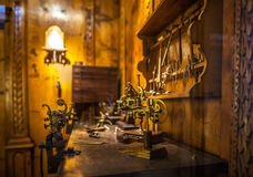 MILAN, ITALY - JUNE 9, 2016: watchmaker`s workshop at the Scienc Stock Images