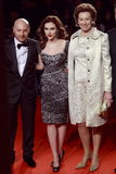 Domenico Dolce, Scarlett Johansson, Letizia Moratti attend the Extreme Beauty In Vogue party Stock Image