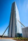 MILAN, ITALY - MAY 04 2016: CityLife Milan Allianz Tower designed by architects Arata Isozaki Royalty Free Stock Image