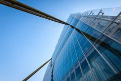 MILAN, ITALY - MAY 04 2016: CityLife Milan Allianz Tower designed by architects Arata Isozaki Royalty Free Stock Images
