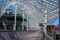 Milan, Italy - May 24, 2016: Fiera Milano Rho is an important international trade fair and conference on visual communication. Stock Image