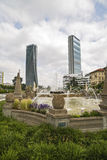 MILAN, ITALY, May,28, 2017 - Isozaki Tower in Royalty Free Stock Images