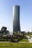 MILAN, ITALY, May,28, 2017 - Isozaki Tower in Royalty Free Stock Photos