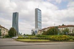 MILAN, ITALY, May,28, 2017 - Isozaki Tower in Stock Photos