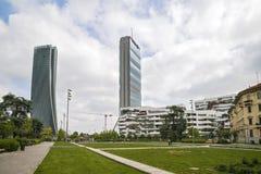 MILAN, ITALY, May,28, 2017 - Isozaki Tower in Stock Photography