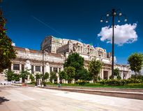 Milan, Italy. Milano Centrale. Train station Royalty Free Stock Images