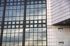 Milan (Italy): modern building Royalty Free Stock Photo