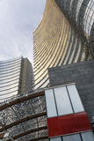 Milan (Italy): modern buildings in Aulenti square Royalty Free Stock Photo