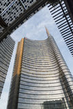 Milan (Italy): modern buildings in Aulenti square Stock Photo