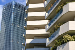 Milan Italy: modern buildings at Citylife Royalty Free Stock Photo