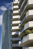 Milan Italy: modern buildings at Citylife Stock Images