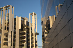 Milan Italy. modern buildings in Portello area Royalty Free Stock Image