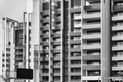 Milan Italy. modern buildings at Portello Stock Photos