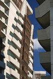 Milan Italy: modern  residential buildings at Citylife Royalty Free Stock Photography