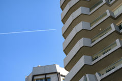 Milan Italy: modern  residential buildings at Citylife Stock Photography