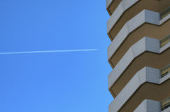 Milan Italy: modern  residential buildings at Citylife Royalty Free Stock Image