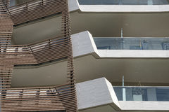 Milan Italy: modern  residential buildings at Citylife Stock Photos
