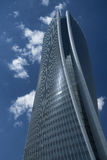 Milan Italy: modern skyscraper at Citylife Royalty Free Stock Images