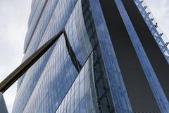 Milan Italy: modern tower at Citylife Royalty Free Stock Photos