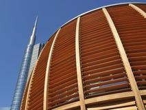 Milan, Italy, new Porta Nuova skyscraper Royalty Free Stock Images